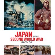 Japan in the Second World War in Color by Batty, David, 9780233004723