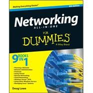 Networking All-in-one for Dummies by Lowe, Doug, 9781119154723