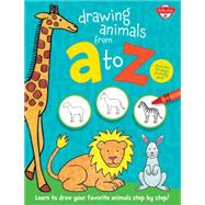 Drawing Animals from A to Z by Walter Foster Jr., 9781600584725