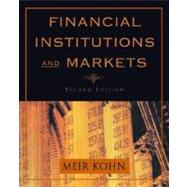 Financial Institutions and Markets by Kohn, Meir, 9780195134728