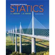 Engineering Mechanics: Statics, 7th Edition by J. L. Meriam (Univ. of California, Santa Barbara); L. G. Kraige (Viginia Polytechnic Institute and State Univ.), 9780470614730