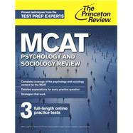 MCAT Psychology and Sociology Review by PRINCETON REVIEW, 9780804124737