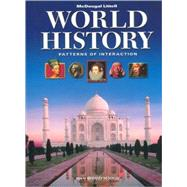 World History: Patterns of Interaction by Holt McDougal, 9780547034751