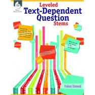 Leveled Text-dependent Question Stems by Housel, Debra, 9781425814755