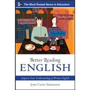 Better Reading English: Improve Your Understanding of Written English by Santamaria, Jenni Currie, 9780071744768