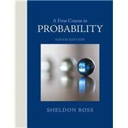 A First Course in Probability by Ross, Sheldon, 9780321794772