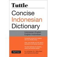 Tuttle Concise Indonesian Dictionary: Indonesian-English / English-Indonesian by Kramer, A. L. N., Sr.; Koen, Willie; Davidsen, Katherine, 9780804844772