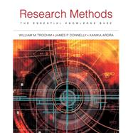 Research Methods The Essential Knowledge Base by Trochim, William; Donnelly, James P; Arora, Kanika, 9781133954774