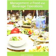 Management of Food and Beverage Operations by Ninemeier, Jack D., 9780866124775