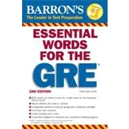 Barron's Essential Words for the GRE by Geer, Philip, 9780764144783
