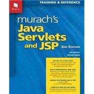 Murach's Java Servlets and JSP: Training & Reference by Murach, Joel; Urban, Michael, 9781890774783