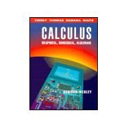Calculus: Graphical, Numerical, Algebraic : Single Variable Version