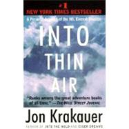 Into Thin Air by KRAKAUER, JON, 9780385494786