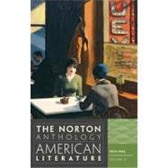 Norton Anthology of American Literature by BAYM,NINA, 9780393934793