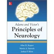 Adams and Victor's Principles of Neurology 10th Edition by Ropper, Allan; Samuels, Martin; Klein, Joshua, 9780071794794