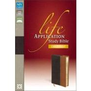 NIV Life Application® Study Bible, Large Print by Unknown, 9780310434795