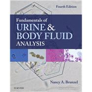 Fundamentals of Urine & Body Fluid Analysis by Brunzel, Nancy A., 9780323374798