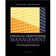 Financial Institutions Management: A Risk Management Approach by Saunders, Anthony; Cornett, Marcia, 9780078034800