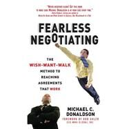 Fearless Negotiating by Donaldson, Michael, 9781259584800