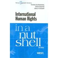 International Human Rights in a Nutshell by Buergenthal, Jon, 9780314184801