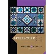 Literature Reading, Reacting, Writing by Kirszner, Laurie G.; Mandell, Stephen R., 9781111344801