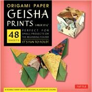 Origami Paper Geisha Prints by Tuttle Publishing, 9780804844802