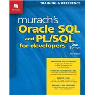 Murach's Oracle SQL and PL/SQL for Developers by Murach, Joel, 9781890774806