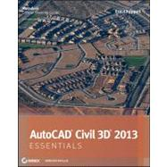 Autocad Civil 3d 2013 Essentials by Chappell, Eric, 9781118244807
