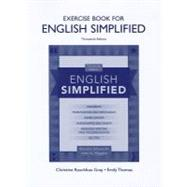Exercise Book for English Simplified by Ellsworth, Blanche, (Late); Higgins, John A., 9780205074822
