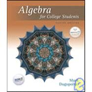 Algebra For College Students by Dugopolski, Mark, 9780072934823