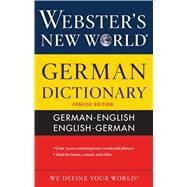 Webster's New World German Dictionary by Terrell, Peter; Kopleck, Horst; Burnett, Jimmy; Ender, Andrea; Ladd, Philip, 9780544944824