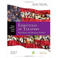South-Western Federal Taxation 2017: Essentials of Taxation: Individuals and Business Entities (with H&R Block™ Premium & Business Access Code for Tax Filing Year 2015 and RIA CheckPoint® 1 term (6 months) Printed Access Card) by Raabe, William A., 9781305874824
