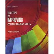 Ten Steps to Improving College Reading Skills (Plus Edition) by Langan, John, 9781591944829