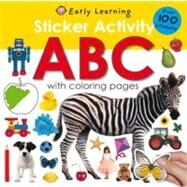 Sticker Activity ABC by Priddy, Roger, 9780312504830