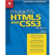 Murach's Html5 and Css3 by Boehm, Anne; Ruvalcaba, Zak, 9781890774837