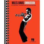 Miles Davis Omnibook: For C Instruments by Davis, Miles (COP), 9781480354838