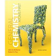 General Chemistry Atoms First Plus MasteringChemistry with eText -- Access Card Package by McMurry, John E.; Fay, Robert C., 9780321804839