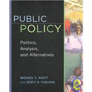 Public Policy by Kraft, Michael E., 9781568024844