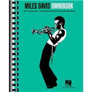 Miles Davis Omnibook by Davis, Miles (CRT), 9781480354845