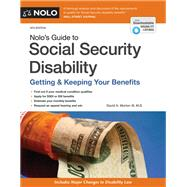 Nolo's Guide to Social Security Disability by Morton, David, III, 9781413324846