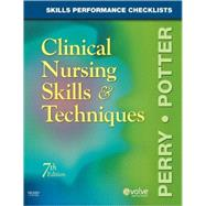 Skills Performance Checklists for Clinical Nursing Skills and Techniques by Toca, Carmen; Potter, Patricia Ann; Perry, Anne Griffin, 9780323054850