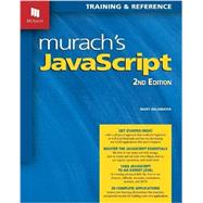 Murach's Javascript by Delamater, Mary, 9781890774851