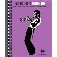 Miles Davis Omnibook by Davis, Miles (COP); Hal Leonard Publishing Corporation, 9781480354852