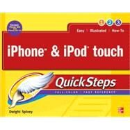 iPhone & iPod touch QuickSteps by Spivey, Dwight, 9780071634854