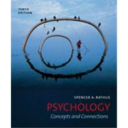 Psychology Concepts and Connections by Rathus, Spencer A., 9781111344856