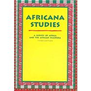 Africana Studies : A Survey of Africa and the African Diaspora by Azevedo, Mario, 9780890894859