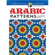 Arabic Patterns Adult Coloring Book by Bourgoin, J., 9780486494869