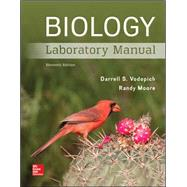 Biology Laboratory Manual by Vodopich, Darrell; Moore, Randy, 9781259544873