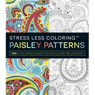 Paisley Patterns Adult Coloring Book by Adams Media, 9781440584879