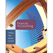 Financial Accounting with Connect Plus by Williams, Jan; Haka, Susan; Bettner, Mark; Carcello, Joseph, 9781259284885